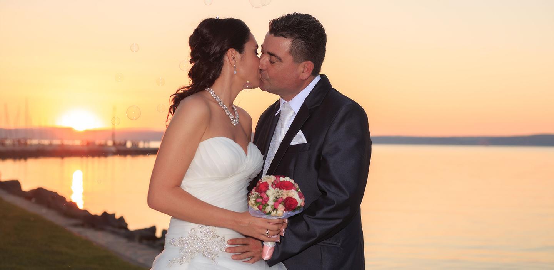 Esküvői fotós Pécsett